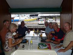 wo, 26/09/2012 - 16:14 - 120. Sundowner met andere zeilers in Le Dodo Café