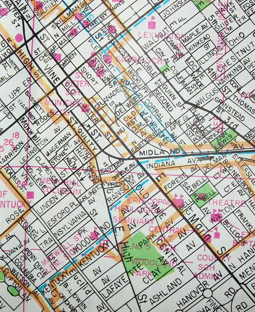 Lexington KY 1988 | Map by Champion Maps  | davecito | Flickr