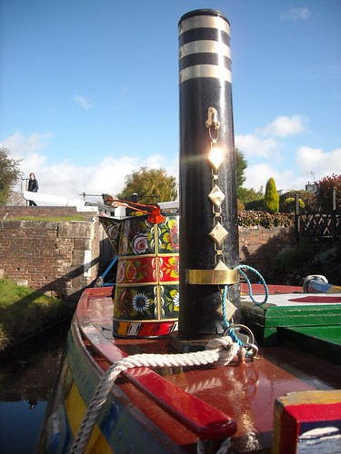 Leo waiting at Stourton | by Heritage Working Boats Group