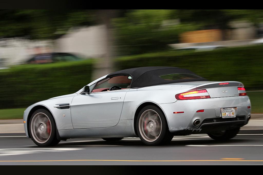 Aston Martin V8 Roadster Cars And Coffee Irvine Califor Flickr