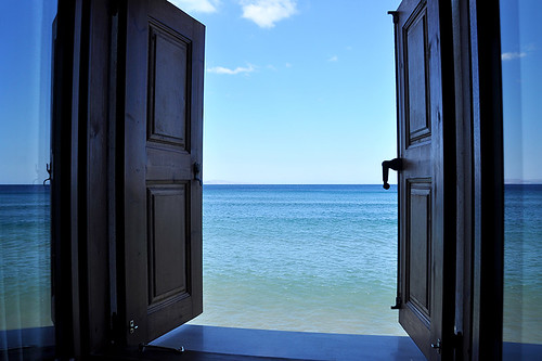 Molyvos - Open Hotelroom Window | by Drriss & Marrionn