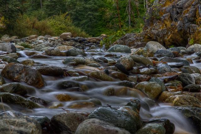 North Yuba River Rocks