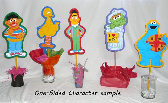 Remarkable Sesame Street Characters Birthday Centerpieces Decorations Interior Design Ideas Tzicisoteloinfo