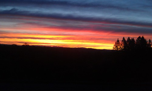 autumn sunrise mtb i80 cannondale morningcommute moutainbike applegateca beyondridiculouscolors pedallingaroundplacercounty