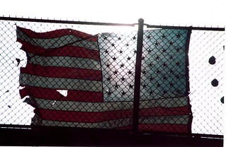 flaG FENCE OVERHIGHWAy tgt | by AlfanoCommunications