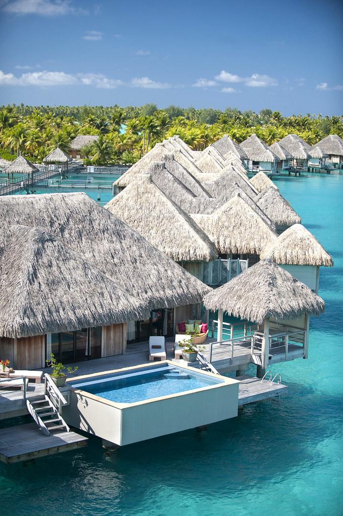 The St Regis Bora Bora Resort Royal Over Water Villa Flickr