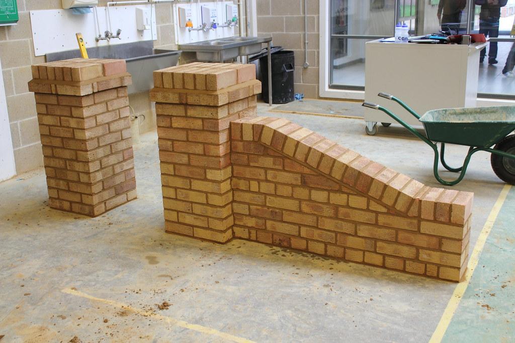 Brickwork English Garden Wall With Pier Brickwork Southamp Flickr