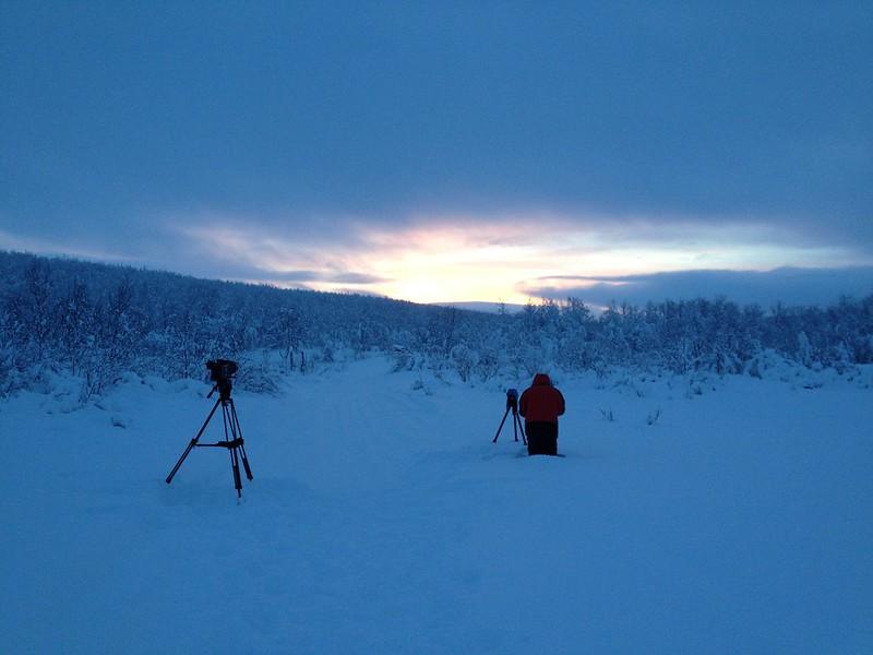 Sunrise in the Wilderness