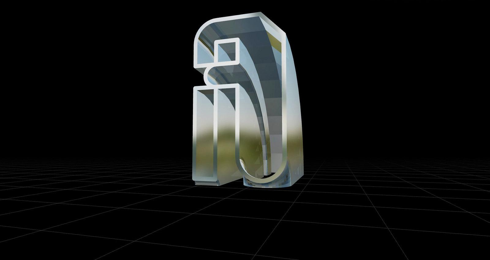 Caracteres tipográficos 3D letra A-letra-a-variaciones
