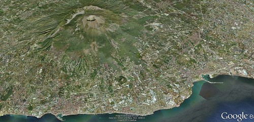 Bay of Naples - google earth view | by The Classical World