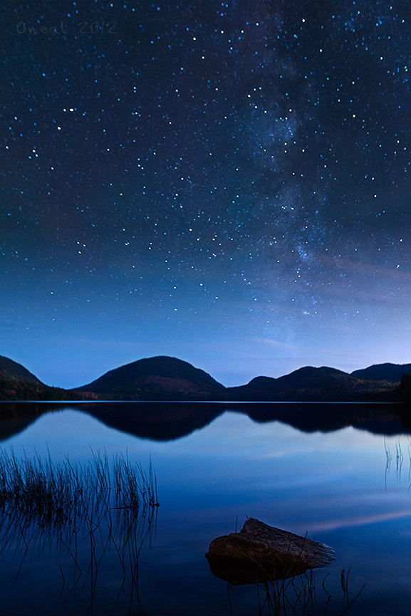 Eagle Lake with the Milky Way