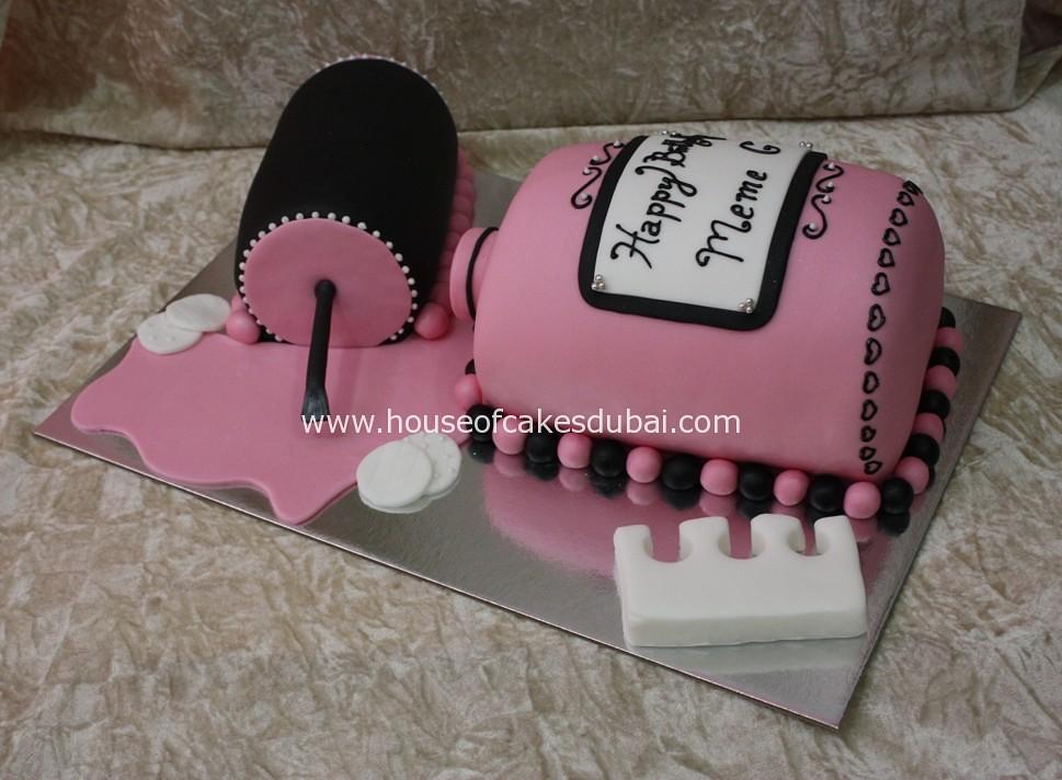 Excellent Nail Polish Cake Irena Flickr Funny Birthday Cards Online Inifodamsfinfo
