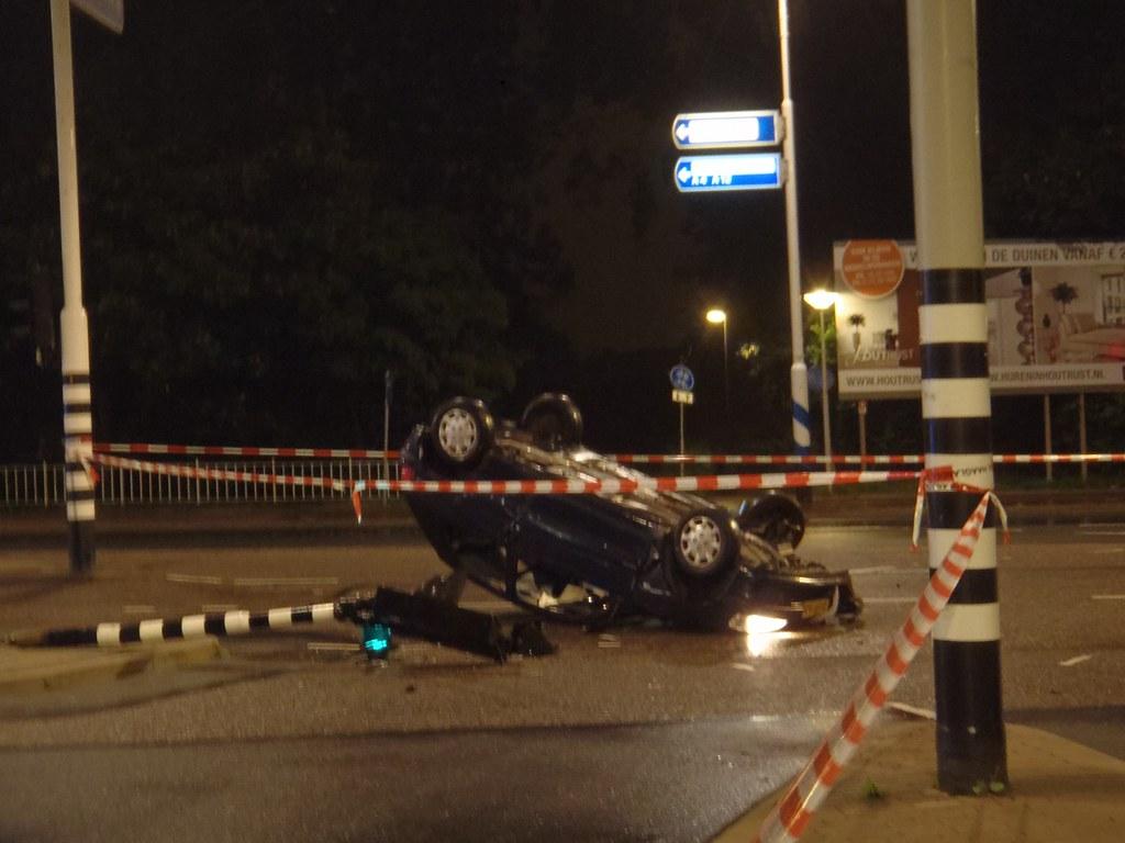 car crash Segbroeklaan The Hague