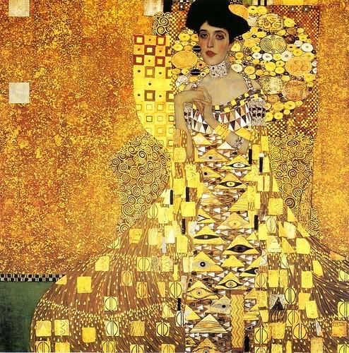 Gustav Klimt painting - Adele Bloch-Bauer