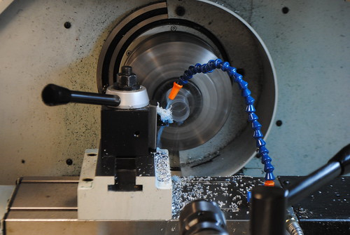 Turning...Flexi Glass | by Thayer School Machine Shop