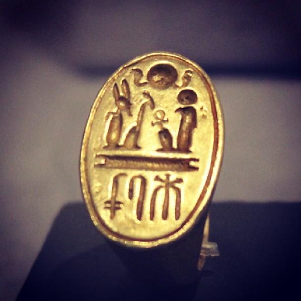 Ramesses II's Signet Ring