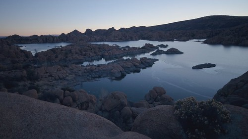 winter arizona lake sunrise timelapse time az watson prescott lapse