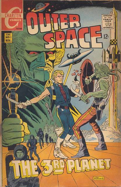SciFi Comic Covers