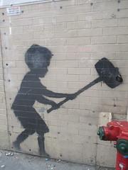 Help Zabars Save this Banksy Graffiti Street Art 3617