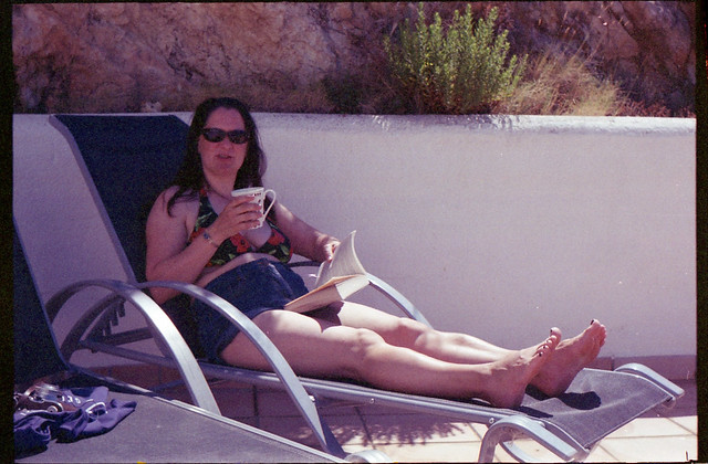 Spain 2016 - Kodak Retina Ib (Type 018 Chrome Dot) - Expired TruPrint Film - Lisa