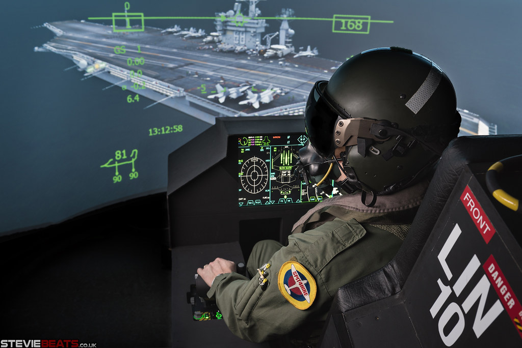 F-35 Flight Simulator Fighter Pilot | Newcastle based jet pi