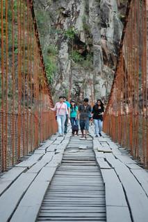 Puente Colgante Kimiri (Quimiri), near La Merced, Chanchamayo, Junín, Peru   by blueskylimit