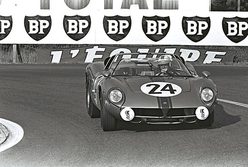 Serenissima Spider at Le Mans in 1966.