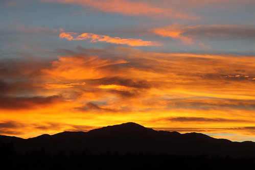 sunset nature colors clouds outside outdoors colorado horizon over peaceful fresh coloradosprings end imagine imagination
