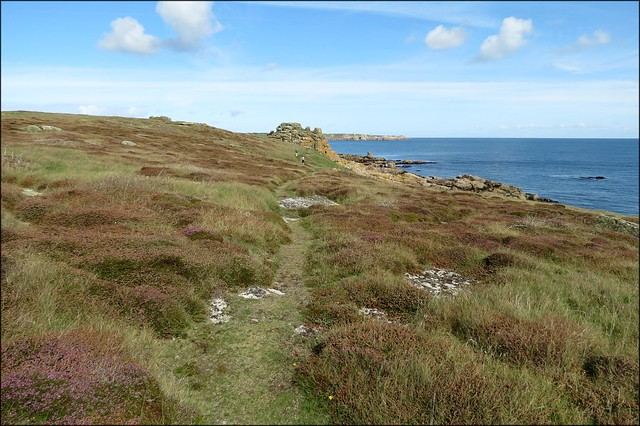 The coast of Gugh, Isles of Scilly