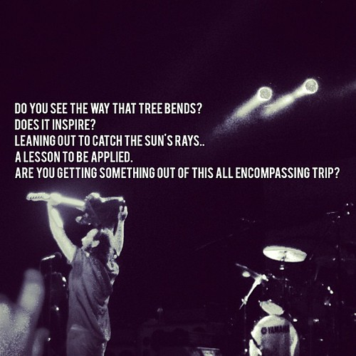 bonnaroo #quotes #lyrics #pearljam #presenttense: October ...