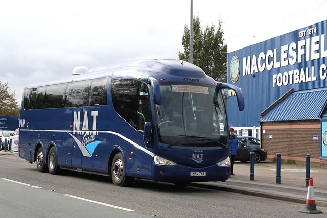 KFJ 742     New Adventure Travel {N.A.T}; Cardiff