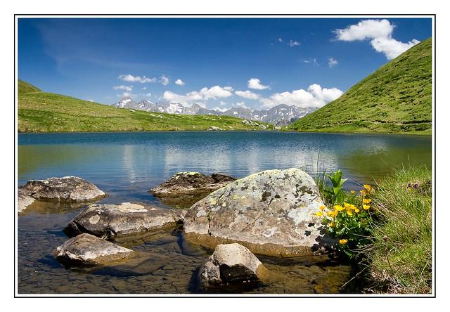 Le lac d'Aule