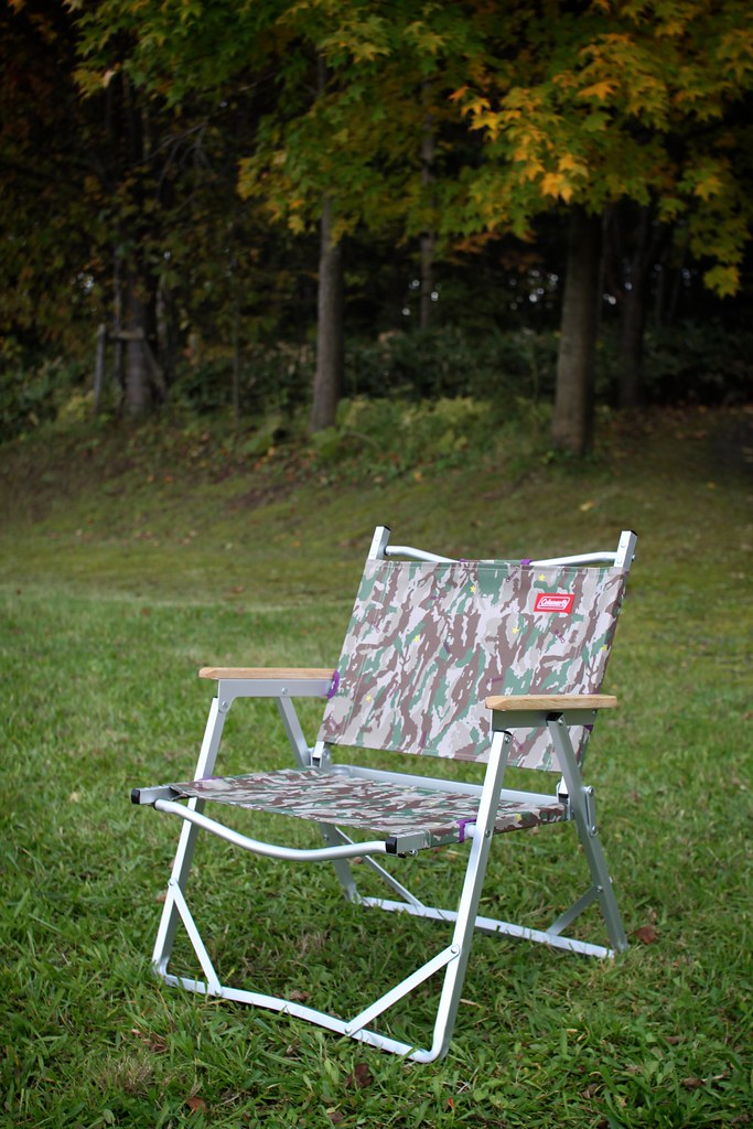 Coleman folding chair.