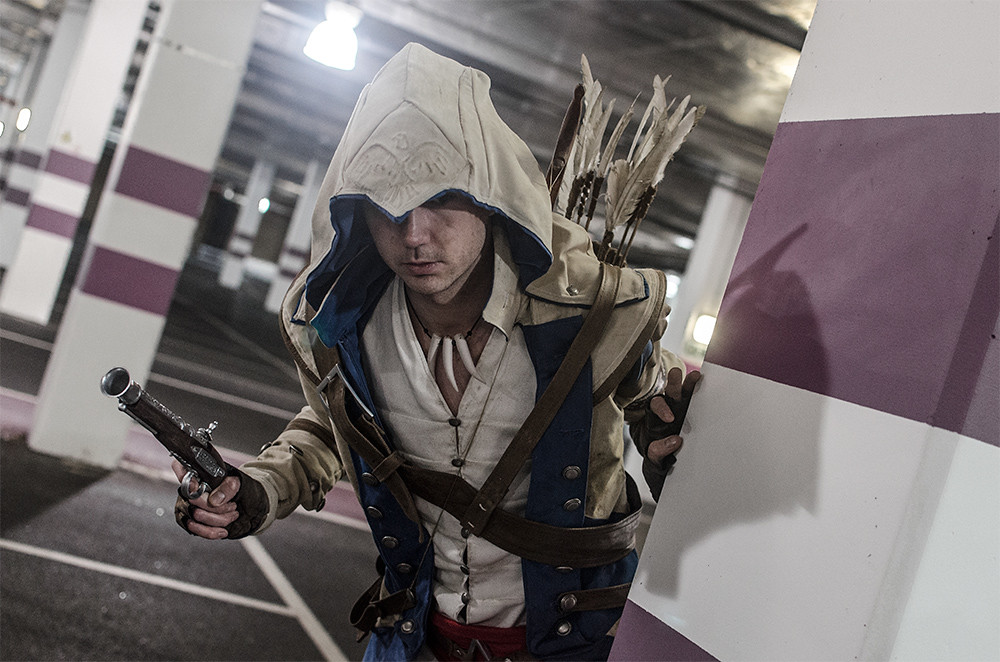 Assassins Creed Iii Connor Kenway Cosplay Mcm Expo Octob Flickr