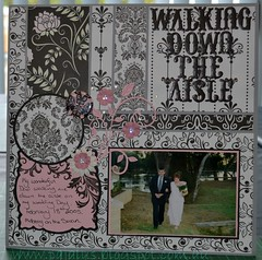 Walking Down the Aisle - Black Tie Affair
