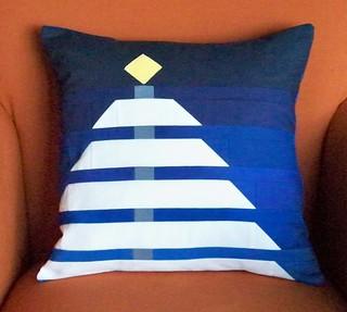 Winter Night Pillow