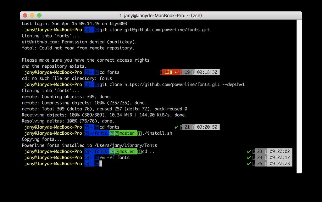 Mac] iTerm + Zsh   scissor lee   Flickr