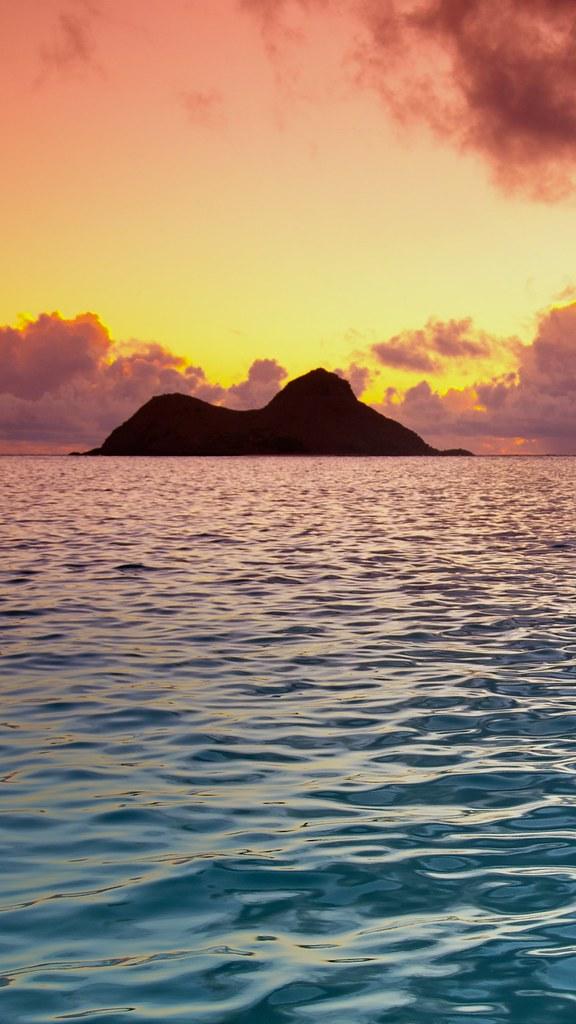 Na Mokulua Hawaii: Na Mokulua, Hawaii 1080x1920