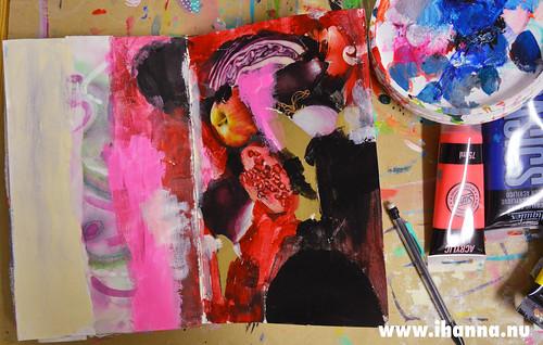 Art Journal spread | by iHanna