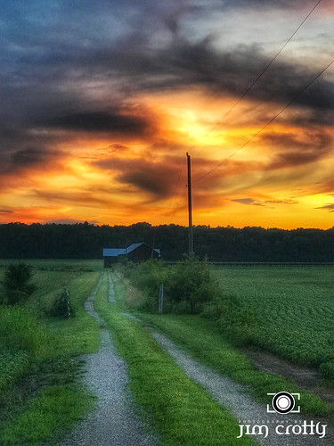 jimcrotty june landscapephotography ohio ohiophotographer warrencounty farm rural summer sunset waynesville unitedstates us