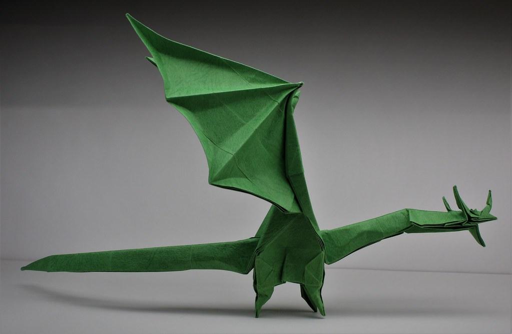 Origami Western Dragon instructions (Shuki Kato) - Published on ...   667x1023