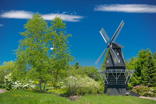 standrews newbrunswick nbphoto nikond3300 d3300 nikkor sceneery landscape windmill kingsbraegarden kingsbrae garden outdoor outdoors tree