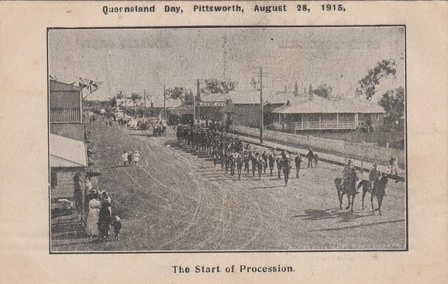 Queensland Day in Pittsworth, Qld - August 28, 1915