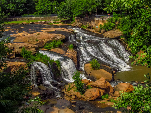 southcarolina greenville water stream river falls waterfalls summer summertime canon powershot sx150is canonpowershotsx150is scenic scenery outside outdoors landscape