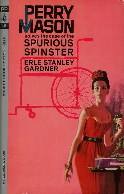 Pocket Books 4515 - Erle Stanley Gardner - The Case of the Spurious Spinster