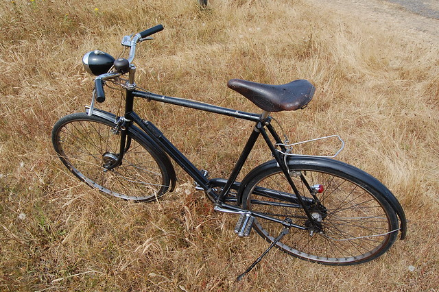 Raleigh Sports 1945 - Black Beauty!