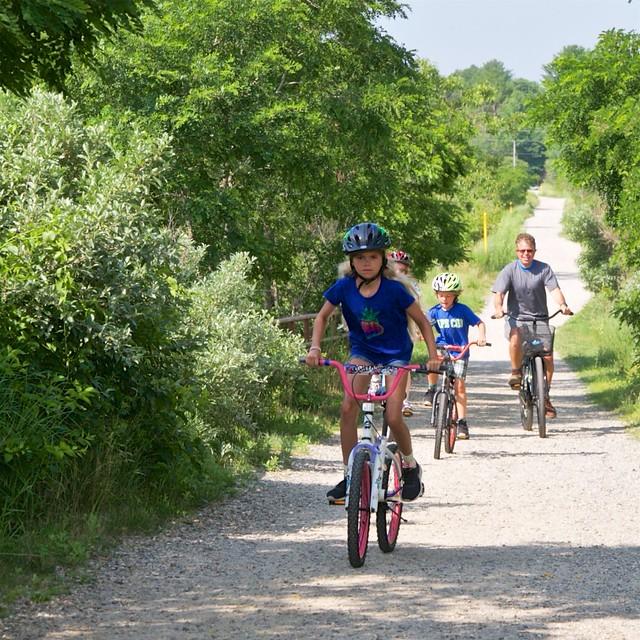 Biking The Eastern Trail