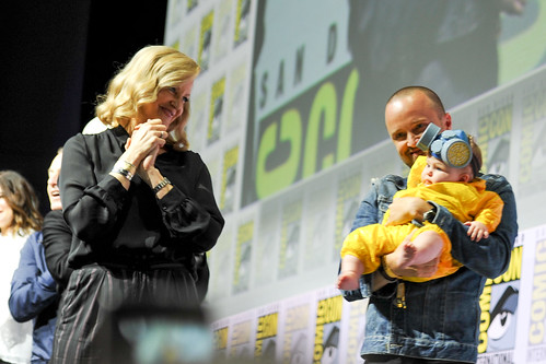 San Diego Comic-Con 2018: Aaron Paul and Little Jesse Pinkman | by Kendall Whitehouse