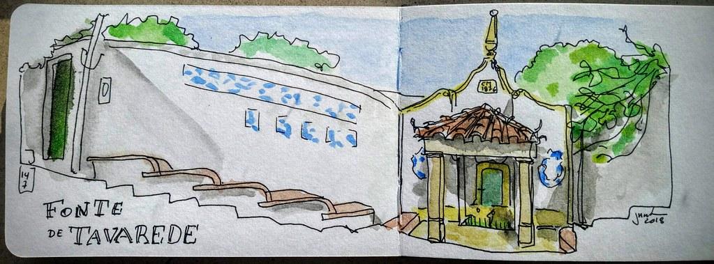 Fonte de Tavarede, Fig. da Foz - Portugal | Caneta uniball