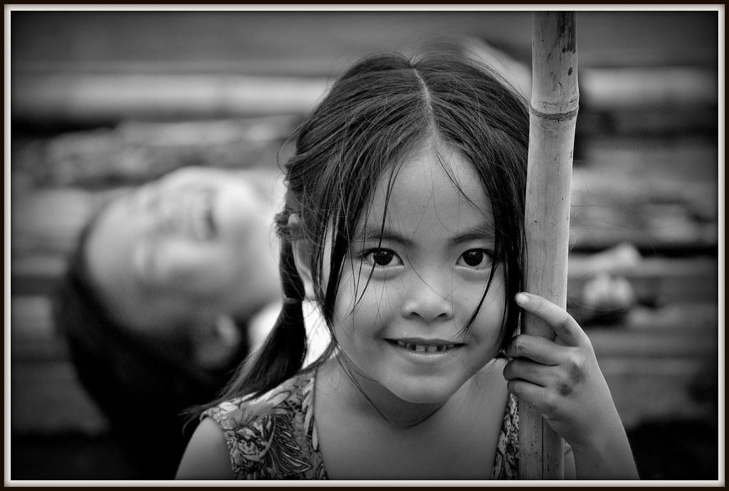 Fillette du Vietnam.